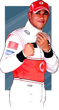 Lewis Hamilton - campeão 2008